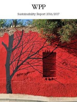 WPP Sustainability report 2016 cover