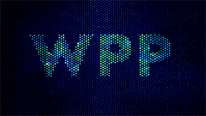 WPP logo in blue