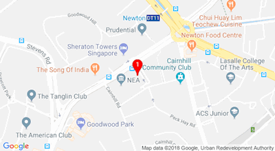 Google map of 50 Scotts Road #03-01